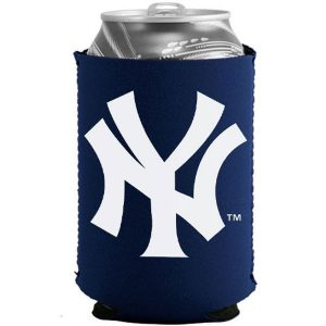 New York Yankees Navy Blue Collapsible Can Cooler