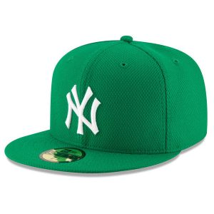 New York Yankees New Era St. Patrick's Day Diamond Era 59FIFTY Fitted Hat