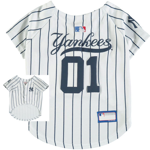 New York Yankees MLB Dog Jersey » Moiderer s Row   Bronx Baseball 9758a2a8712