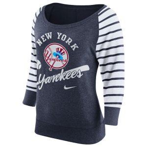 New York Yankees Nike Women's Cooperstown Collection Gym Vintage Sweatshirt