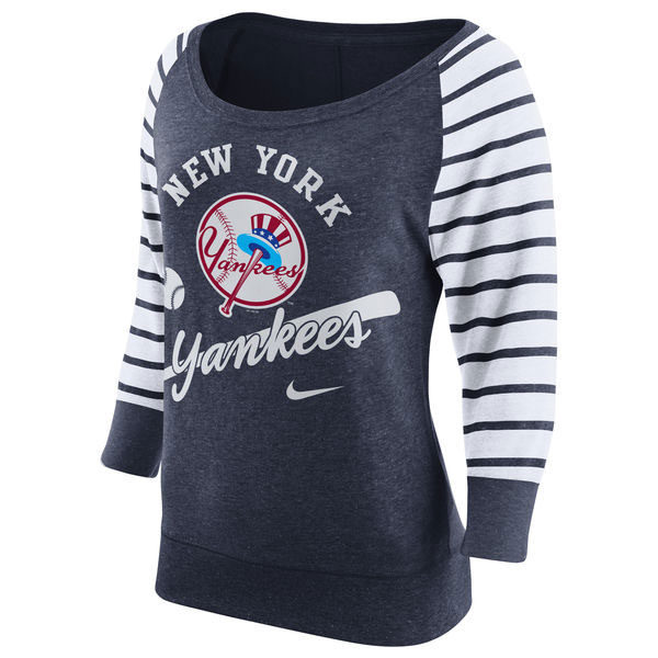 New York Yankees Nike Women's Cooperstown Collection Gym Vintage Sweatshirt