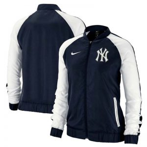 Yankees womens full-zip varsity jacket by Nike : Moiderers Row Shop