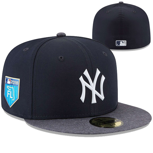 New York Yankees New Era 2018 Spring Training Collection Prolight 59FIFTY Fitted Hat