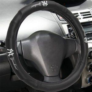 New York Yankees Steering Wheel Cover