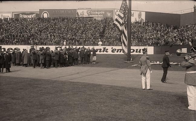 Opening Day 1923 Yankee Stadium
