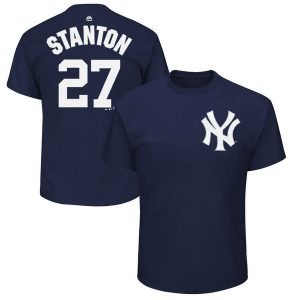 Giancarlo Stanton T-Shirt New York Yankees Gear at Moiderers Row