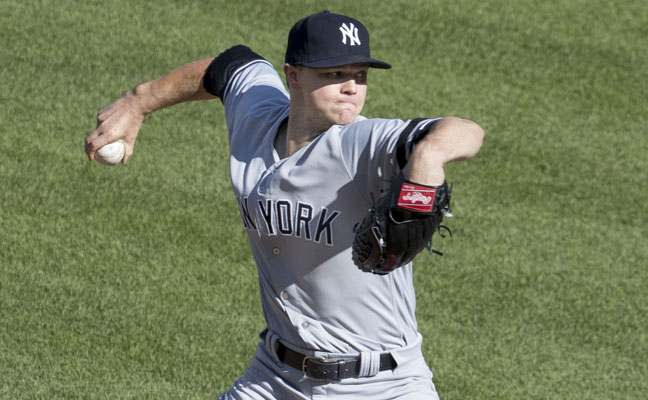 Sonny Gray of the New York Yankees
