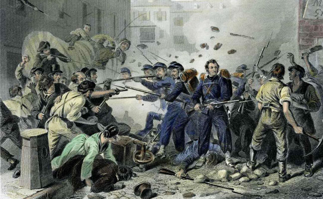 The Baltimore Riots of 1861