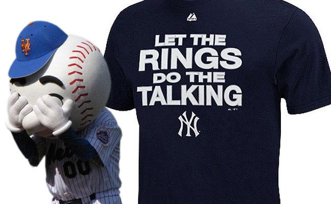 New York Yankees vs New York Mets : Let the Rings Do the Talking