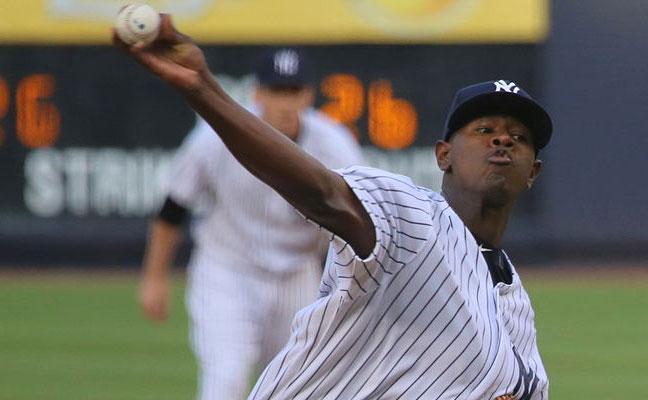 Yankees ace Luis Severino. Photo credit by Arturo Pardavila III