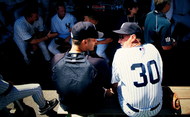 Old Timer's Day 2009 at Yankee Stadium. Photo by Mark Rosal.
