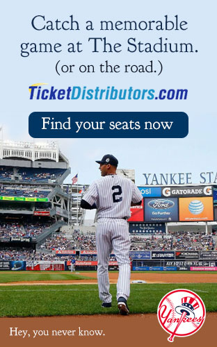 Home and Road Discounted New Yorkees Game Tickets
