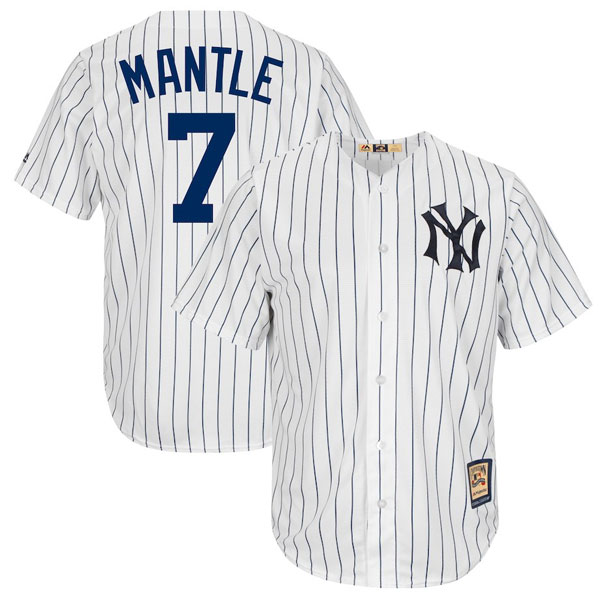 Mickey Mantle Cooperstown Home Jersey - Moiderer's Row Shop