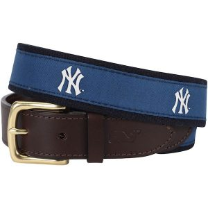 New York Yankees Men's Canvas Belt - Fashion Accessories at Moiderer's Row Shop