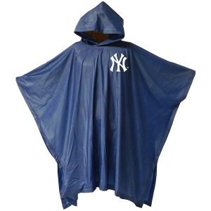 New York Yankees branded rain poncho