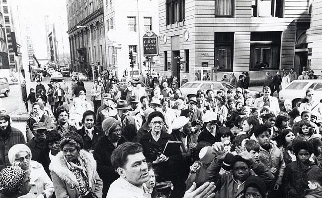 1976 Boston Massacre remembrance