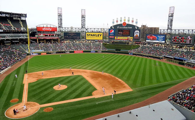 Guaranteed Rate Field when it was U.S. Cellular in 2015