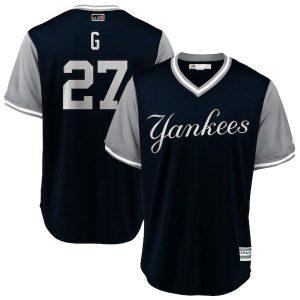 Yankees Player's Weekend Jersey Giancarlo Stanton 'G'