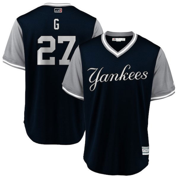 Yankees Player's Weekend Jersey Giancarlo Stanton 'G'