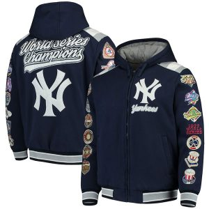 Carl Banks New York Yankees Varsity Jacket : Moiderers Row Store