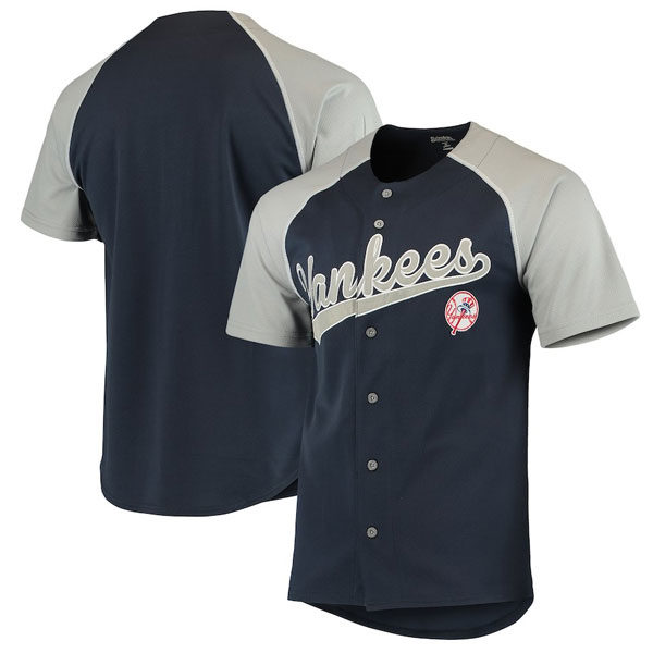 uk availability 91c41 7a447 New York Yankees Team Jersey By Stitches