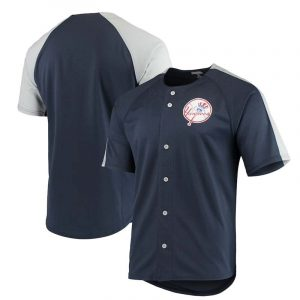 Yankees button up jersey with classic top-hat logo : Moiderers Row Shop