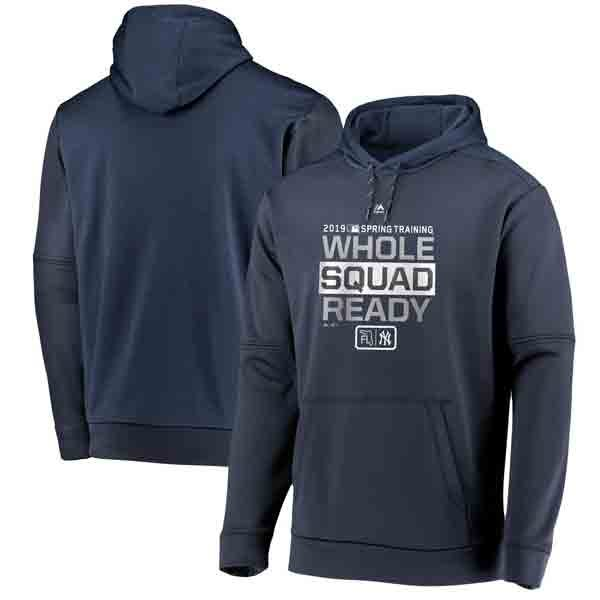 Moiderers Row Store : 2019 Yankees Spring Training Pullover Hoodie