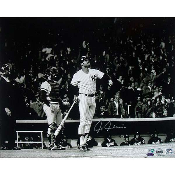 Chris Chambliss-signed photo of his 1976 ALCS winning HR