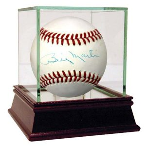 Billy Martin signed baseball New York Yankees collectibles Moiderers Row Store