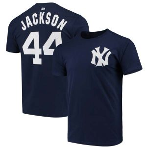 Reggie Jackson 1970s New York Yankees Cooperstown Collection t-Shirt