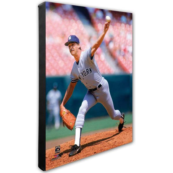 Ron Guidry 16x20 Canvas 1970s New York Yankees Collectibles