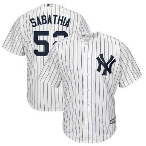 CC Sabathia Official Yankees Home Jersey