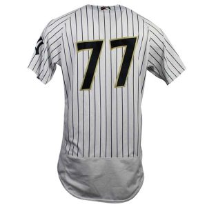 Clint Frazier Game Used Jersey 2018 Scranton Wilkes Barre RailRiders