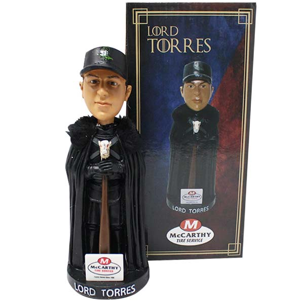 2018 Scranton/Wilkes-Barre RailRiders Gleyber Torres 'Game of Thrones' Bobblehead