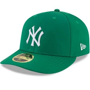 New York Yankees St. Patricks Day Low Profile Baseball Cap ; Moiderers Row Store