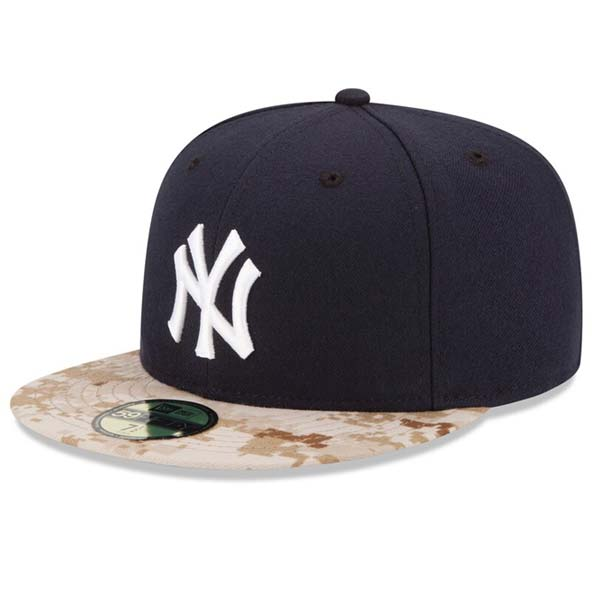 New York Yankees 2015 Memorial Day Cap Worn By Players