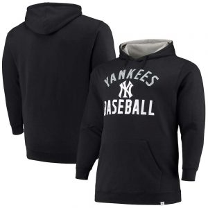 yankees big and tall pullover hoodie