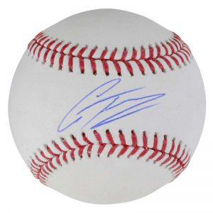 Yankees Gleyber Torres autographed baseball