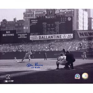 "Yankees Don Larsen autographed 1956 World Series Photograph "" Moiderer's Row Shop"