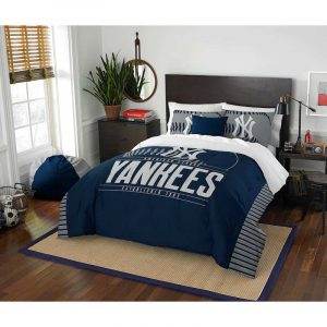 New York Yankees Full-Queen Comforter Set : Moiderer's Row Store