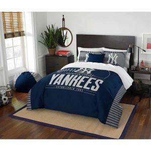New York Yankees Full-Queen Comforter Set : Moiderer's Row Store