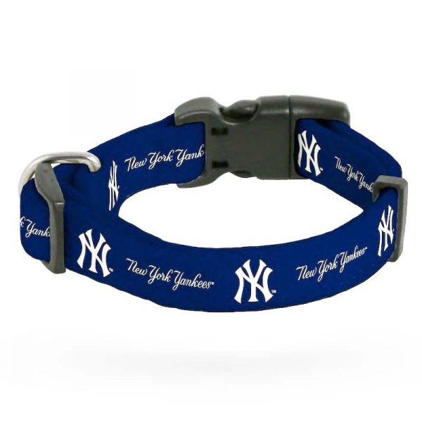 New York Yankees Rugged Dog Collar : Moiderer's Row Shop