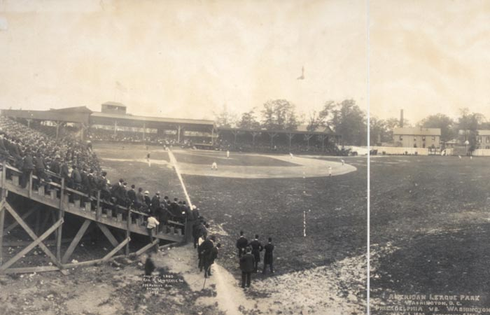 American League Park in Washington DC May 6, 1905