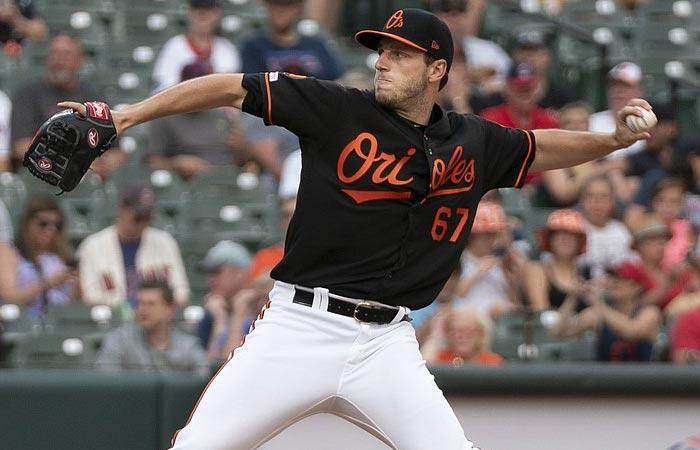Baltimore Orioles lefthander John Means
