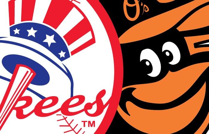 Yankees at Baltimore Orioles