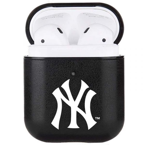 Yankees branded leather case for Air Pods
