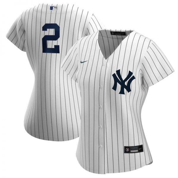 Women's Derek Jeter Yankees Home Jersey