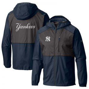 Yankees full-zip team windbreaker jacket