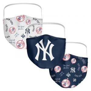 yankees logo covid-19 face masks