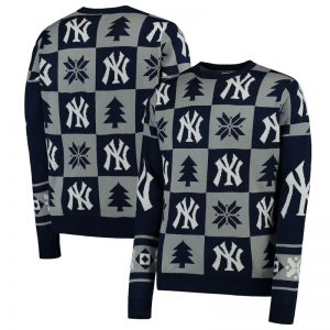 yankees ugly christmas holiday sweater